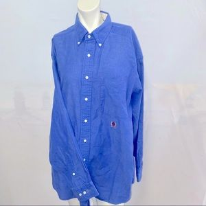 Tommy Hilfiger DressShirt Cotton Blue 16.5 (34/35)